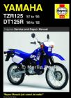 Yamaha TZR125 (87 - 93) and DT125R/X (88 - 07) Haynes Manual